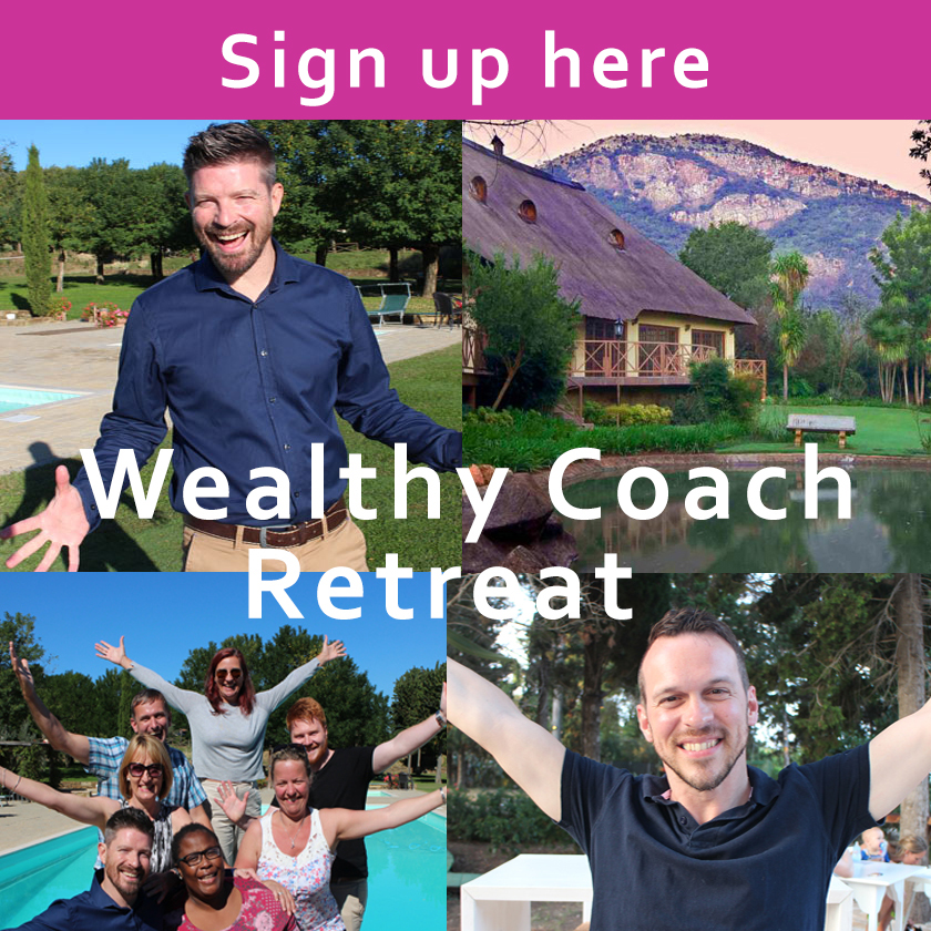 wealthy coach retreat