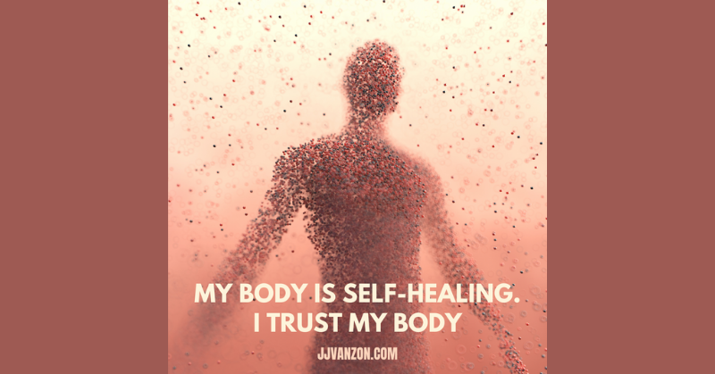 My body is self-healing. I trust my body image for blog