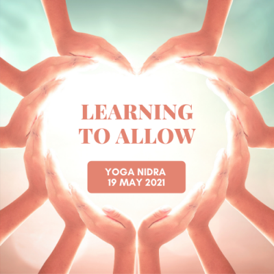 Product Image Yoga Nidra 19 May 2021 Learning to Allow